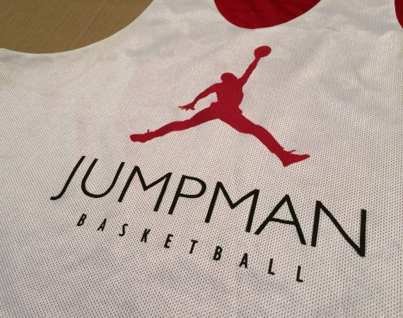 Vintage Gear: Air Jordan 12 Jumpman Basketball Reversible Practice Jersey