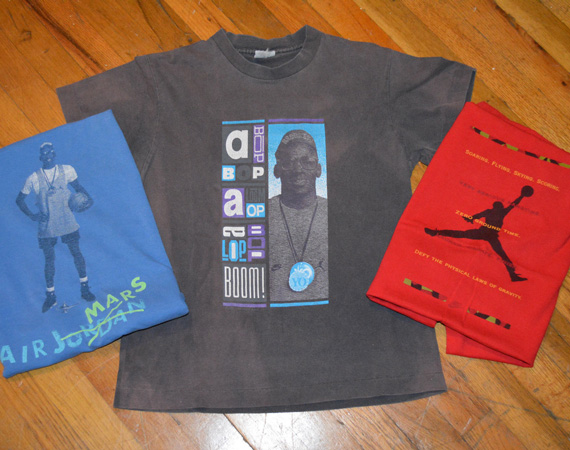 Vintage Gear: Air Jordan x Mars Blackmon T Shirt Collection