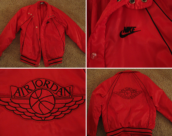 Air Jordan Veste De Satin Cru