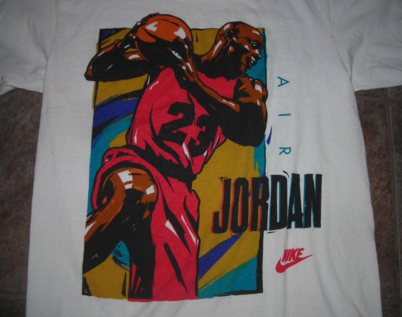 6e06211e4d2 Vintage Gear: Air Jordan Retro Graphic T-Shirt - Air Jordans ...