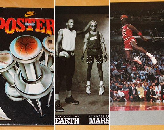 Vintage Gear: Lot of 52 Nike Sports Posters