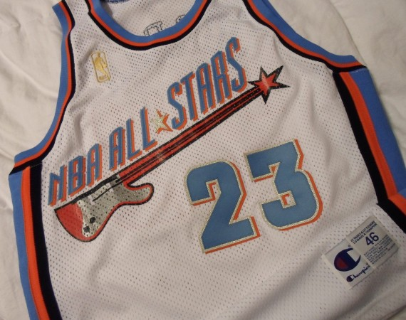 Vintage Gear: Michael Jordan 1997 All Star Game Jersey Prototype