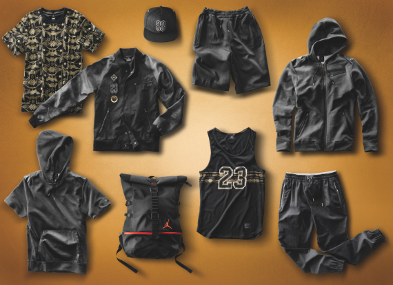 Jordan Brand Crescent City Gold Collection