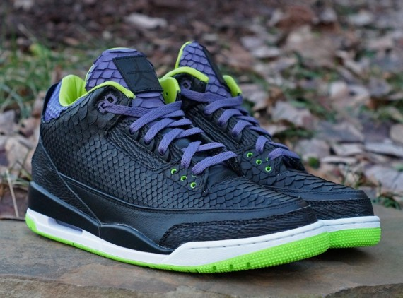 Air Jordan 3: Python Joker by JBF Customs