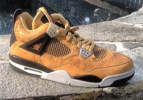 Air Jordan 4: Laser PE for Michael Jordans Birthday