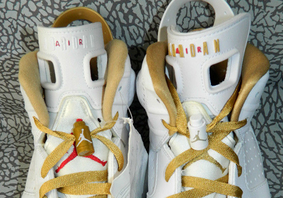 Air Jordan 6: Golden Moments   Alternate Sample