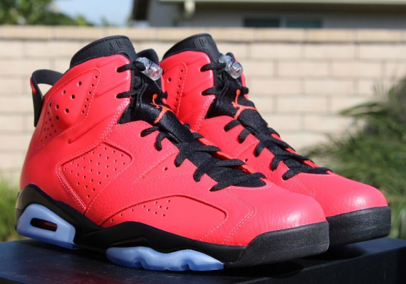 Air Jordan 6: Infrared 23   Release Reminder