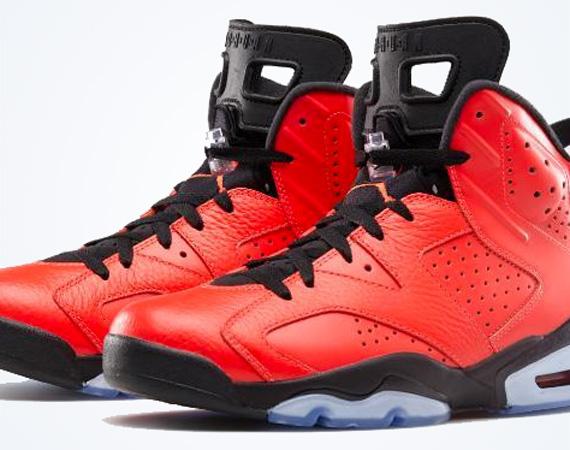 Air Jordan 6: Infrared 23   Nike Store Release