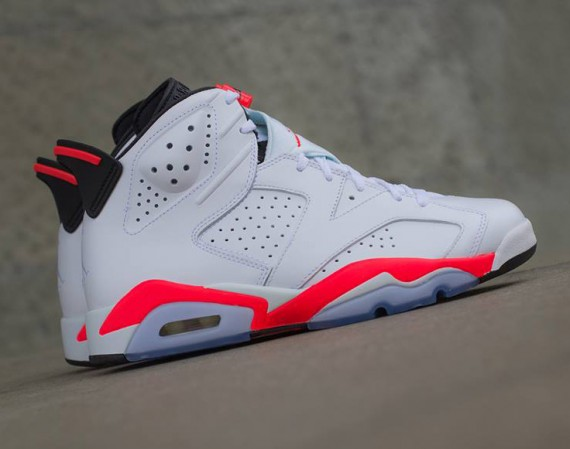Air Jordan 6 Retro: White/Infrared   Release Reminder