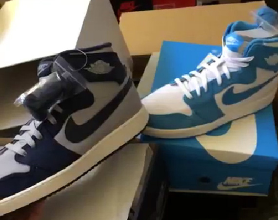 Kendall Marshall Previews Air Jordan 1 AJKO UNC & Georgetown