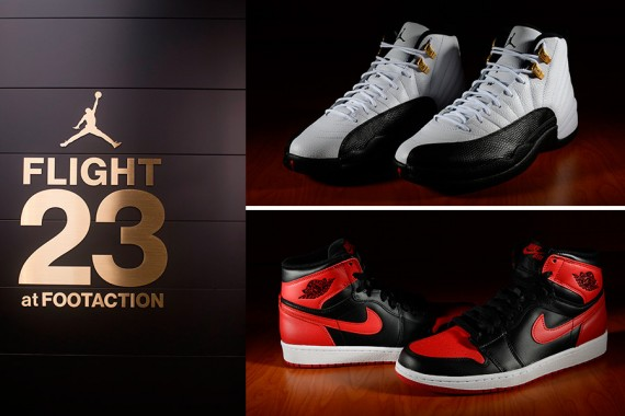 Flight 23 NYC @Footaction All Star Weekend Air Jordan Restocks