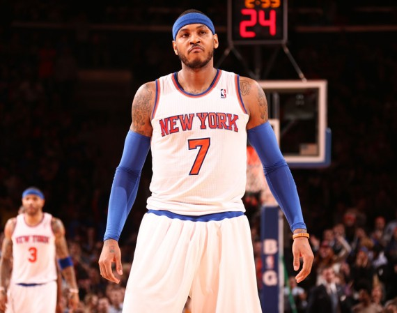 Carmelo Anthony Wins January NBA Player of the Month