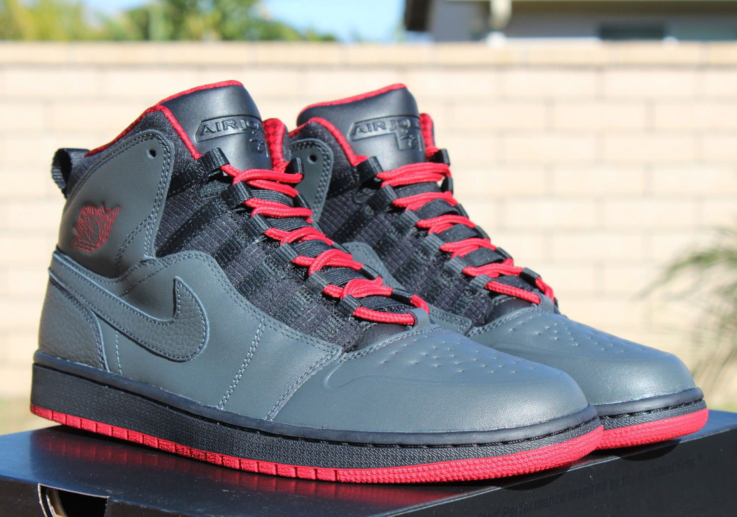 air jordan 1 anthracite