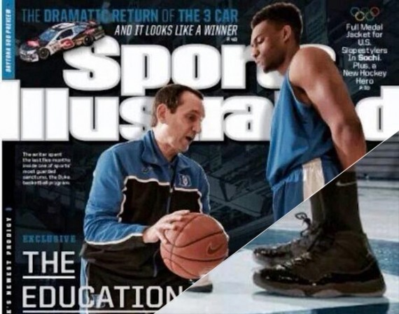 Jabari Parker Covers Sports Illustrated In Air Jordan 11 Gamma Blue