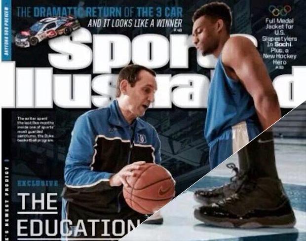 Jabari Parker Covers Sports Illustrated In Air Jordan 11 ... Jabari Parker Shoes