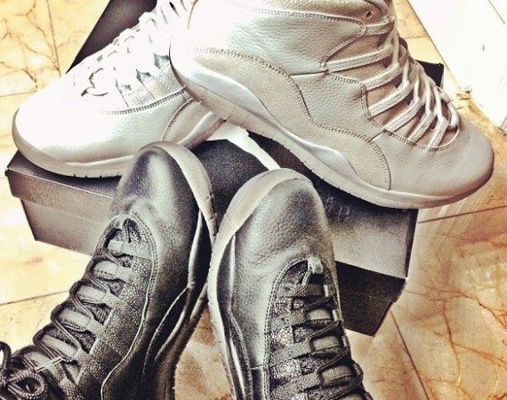 Johnny Manziel Shows Off Air Jordan 10 OVO Collection