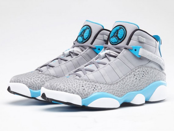 Jordan 6 Rings: Dark Powder Blue   Official Images