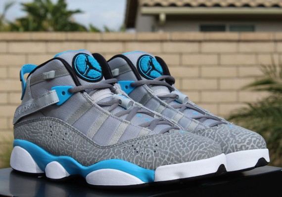Jordan 6 Rings: Dark Powder Blue   Release Reminder