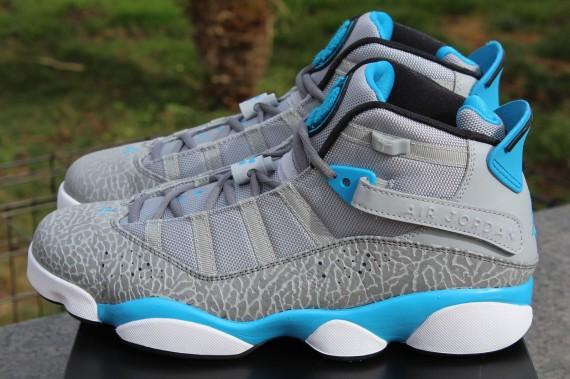 "Jordan 6 Rings: ""Dark Powder Blue"" - Release Reminder ..."