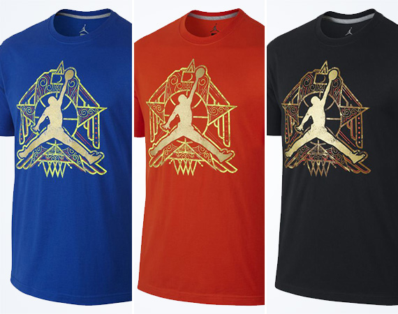 "buy popular 8b1ee 69a2d Jordan ""Crescent City"" Jumpman T-Shirt"