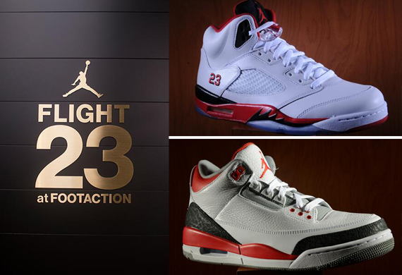 Fire Red Air Jordans Restock at Flight 23 NYC