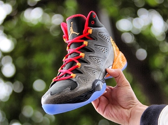 """Jordan Melo M10 """"All-Star"""" Color  Sequoia Metallic Gold-Infrared 23-Atomic  Mango Style Code  656325-323. Release Date  02 14 14. Price   165 080982c4948c"""
