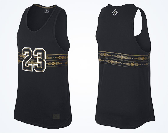 Jordan Brand New Orleans Graphic Sleeveless T Shirt