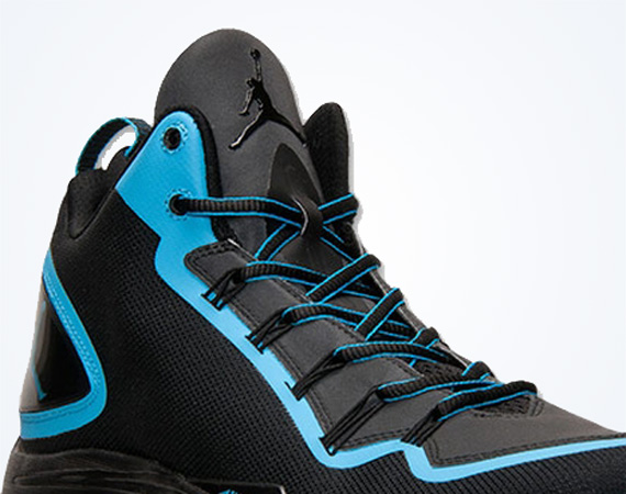 Jordan Super.Fly 2 PO: Black   Dark Powder Blue