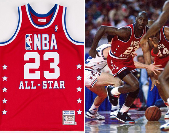 Mitchell & Ness to Release Limited Edition Michael Jordan Throwback Jerseys
