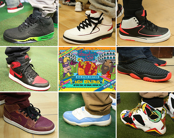Sneaker Con New Orleans February 2014: On Feet Recap
