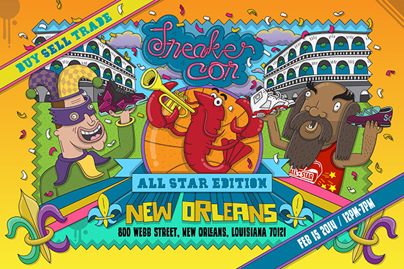 Sneaker Con: New Orleans   Event Reminder