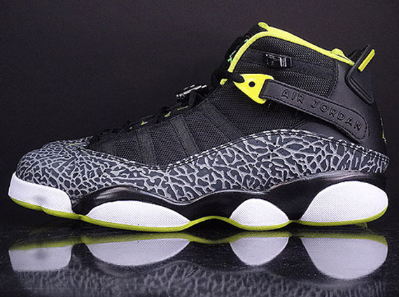 Jordan 6 Rings: Venom Green