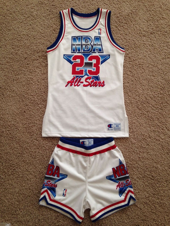 wtodtd Vintage Gear: Authentic Michael Jordan 1992 NBA All-Star Game