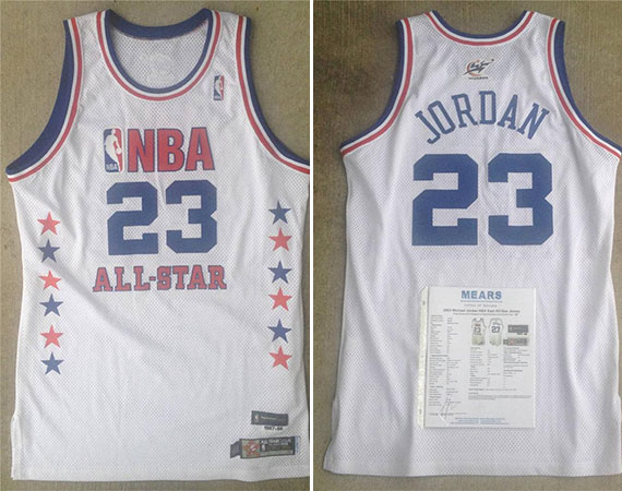 Vintage Gear: Michael Jordan Game Worn 2003 NBA All Star Jersey