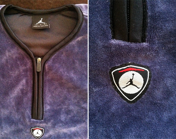 Vintage Gear: Air Jordan XIV Velour Shooting Shirt