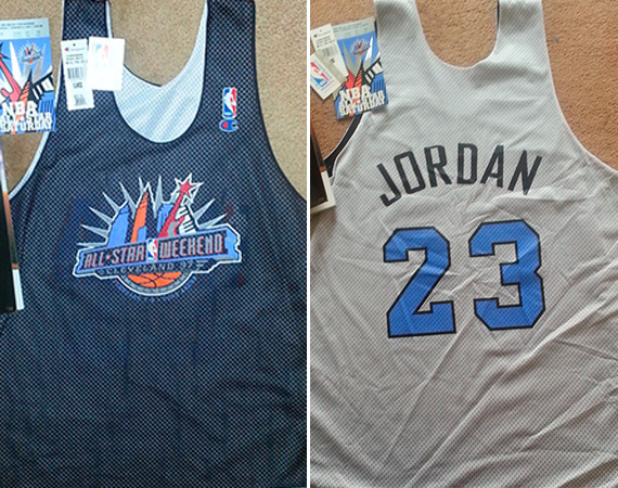Vintage Gear: Michael Jordan 1997 NBA All Star Practice Jersey