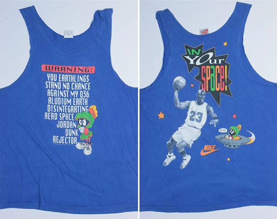 Vintage Gear: Nike In Your Space! Tank Top
