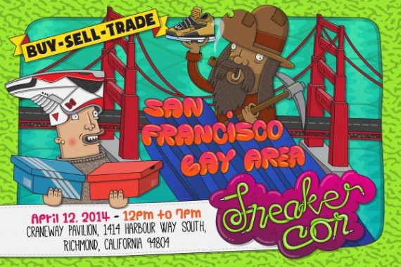 Sneaker Con San Francisco   April 12th, 2014