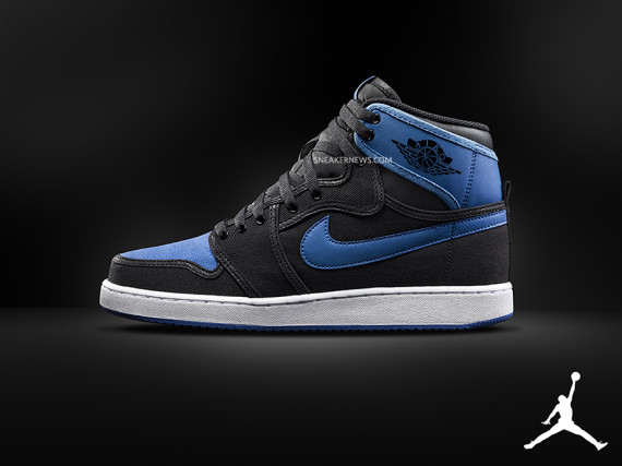 Air Jordan 1 KO: Black   Royal