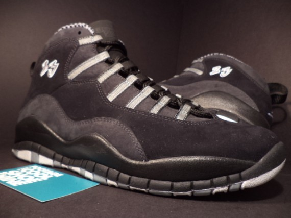 Air Jordan 10: Stealth Unreleased Sample   Available on eBay