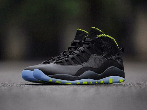 Venom Green Air Jordan X Retro
