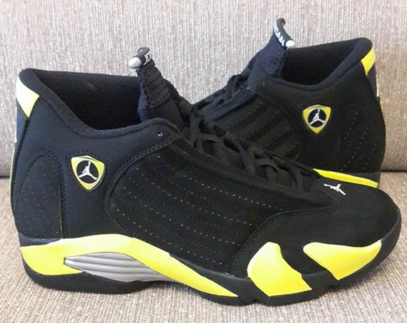 "bafc9c741f4389 The Air Jordan 14 ""Thunder"" will arrive at retailers on July 4th"