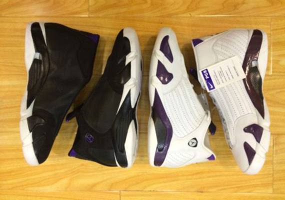 Air Jordan 14: Ray Allen Milwaukee Bucks PEs   Available on eBay