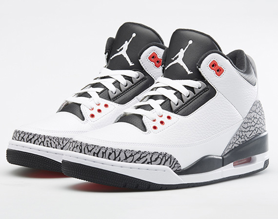 Air Jordan 3: Infrared 23   Nikestore Release Information
