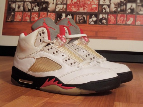 Air Jordan 5 Retro   Sample from 1995