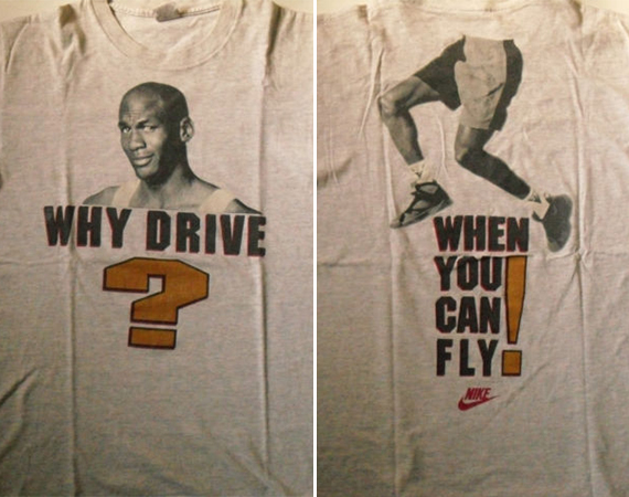 Vintage Gear: Air Jordan 7 Why Drive T Shirt