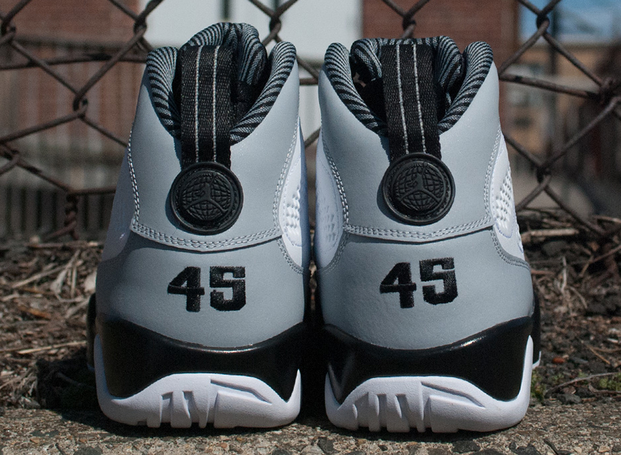 timeless design 3d719 a94be The Air Jordan 9 marks an interesting time in Jordan Brand s history  because it had the brand scrambling to put out a signature shoe for a  player that ...