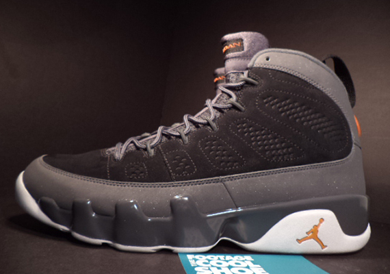 Air Jordan 9: Mesa Orange Sample   Available on eBay