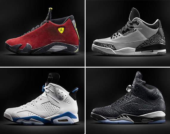 A Detailed Look at Fall 2014s Air Jordan Retros