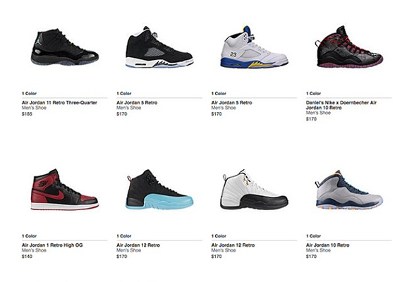 Nikestore Restocks Air Jordan 1 Bred, Air Jordan 11 Gamma Blue and More